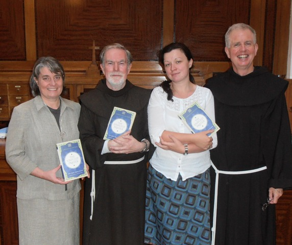 Book Launch: Sr Julie McGoldrick, Kieran Cronin OFM, Naomi Dunlevey and Francis Cotter OFM